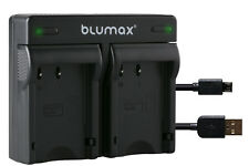 Akku Dual Ladegerät für Pentax D-Li109 DLi109 - K-2 K-30 K-50 K-70 |90108-90340|