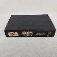 Star wars Jedi Academy Trilogy Hardcover Book, No Dust Jacket, Omnibus, 3 in 1
