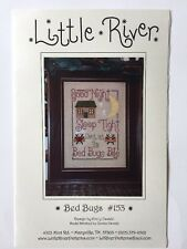 Little River BED BUGS #153 Counted Cross Stitch Pattern NIP