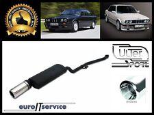 SILENCIEUX BMW 3 E30 316i 318i 1987 1988 1989 1990 1991 Ø100