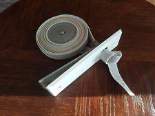Gurtwickler Einlaßwickler Lochabstand 16,5 cm incl. Aufzugsgurt und Blende weiß