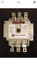 EATON/CUTLER HAMMER C825KN6A  110/120V 3 Pole 200 Amp  contactor new