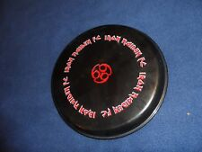 IRON MAIDEN Fan Club 666 Frisbee - Flying Disc Rare Hard to find