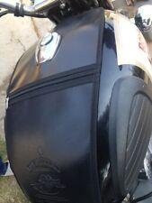 Royal Enfield/Classic 350/500/Black LOGO Tank Cover/Tank Bag/Sahara