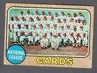 1968 Topps Baseball #497 1967 St. Louis Cardinals Cards Team Card