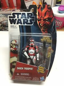 STAR WARS MOVIE HEROS SHOCK TROOPER