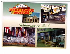 Postcard: Little League Baseball Museum, Williamsport, Pennsylvania, USA