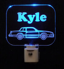 Personalized Custom Chevy Monte Carlo LED Night Light - Car, Kids, Man cave