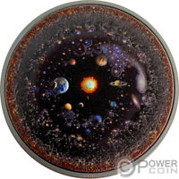 UNIVERSE Space Final Frontier 3 Oz Silver Coin 20$ Palau 2019
