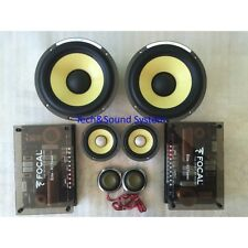 FOCAL ES165KX3 KIT SPEAKERS POWER 240W MID+ WOOFER 165mm +TWEETER