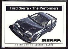 FORD SIERRA ORIGINALE COLLECTORS CARTA Set of 7 - XR4i, RS Cosworth XR 4x4 500