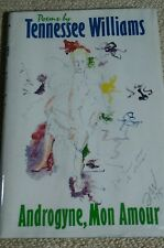 ☆SIGNED First Edition Tennessee Williams Androgyne, Mon Amour: POEMS