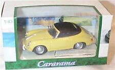 Porsche 356B yellow  1-43 scale new in box