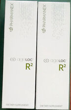 Nu Skin Pharmanex ageLOC R2 x 2,  Day and Night, 2 Month Supply, Exp  11/18