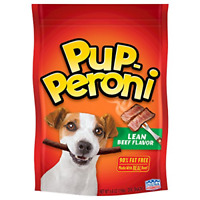 Pup-Peroni Original Lean Beef Flavor Dog Snacks, 5.6-Ounce Pack of 8