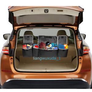 Universal High Capacity Multi-use Car Truck Seat Back Cargo Trunk Organizer Bag