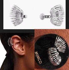Mimco Interlude Ear Cuff Earrings Silver Brand New + Dust Bag