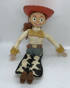 """Vintage ThinkwayToy Story Disney Pixar Pull String Talking Jesse 13""""working"""