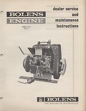 BOLENS SPRINT SNOWMOBILE ENGINE MODELS 2Z15 315 CC DEALER SERVICE MANUAL(101)