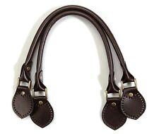 "byhands 100% Genuine Leather Purse Handles / Bag Strap, Brown, 20.1"" (22-4902)"
