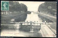 21 COTE D'OR  .. LE CHATELET .. L'ECLUSE  .. 1912