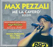 Max Pezzali Me la Caverò + Eccoti (2005) CDSingle NUOVO SIGILLATO Come mai Bella