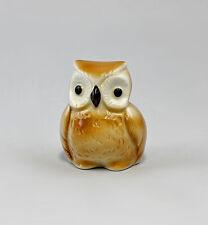 Porzellan Figur Vogel Kleine Eule Wagner & Apel H4,5cm 9942479