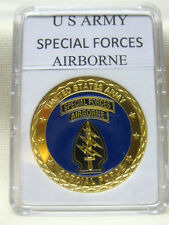 US ARMY SPECIAL FORCES AIRBORNE Challenge Coin