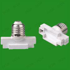 40x Edison Screw ES E27 To G53 Light Bulb Adaptor Holder Converter Lamp Socket
