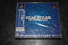 Star Ocean The Second Story  New Factory Sealed  Playstation 1 Jap NTSC  Version