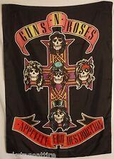 GUNS N' ROSES Axl Appetite For 4 Destruction Cloth Fabric Poster Flag Banner-New