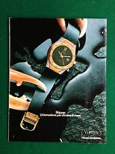 PY86 Pubblicità Advertising Clipping 28x22 cm (1983) WINTEX SKIPPER OROLOGIO