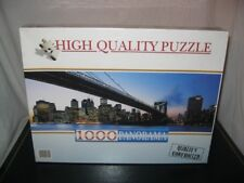 NEUF PUZZLE 1000 CLEMENTONI PANORAMA NEW YORK 98x33cm High Quality NEUF Art90801