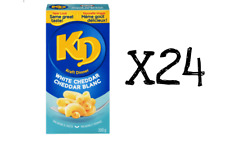 24 - 200g Boxes KD White Cheddar KRAFT DINNER Canadian Made FRESH