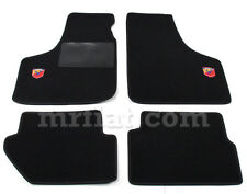 Fiat 500 600 Black Abarth Floor Mats Set New