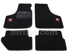 Fiat 500 600 Black Abarth Floor Mats Set New
