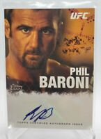 2010 Topps UFC MMA Phil Baroni Autograph Card