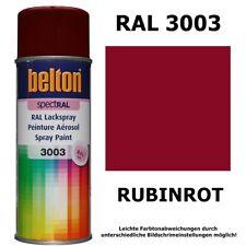 Sprühlack Farbe RAL 3003 RUBINROT glänzend Belton Lackspray Rot Farbspray 400ml