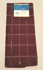 Kitchen Towel Accessory Microfiber Chocolate Brown Solid Color NEW