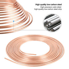 "Brake Pipe Hose 3/16"" 25 Feet Roll Line Copper Tube Piping Joint Union for Car"