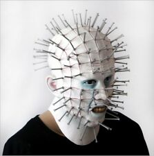 Terrible Hellraiser Pinhead Latex Mask Full Head Costume Gag Party Halloween