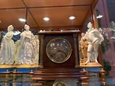 Sessions Oak Mantle Clock