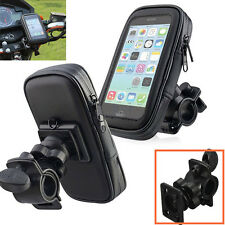 New Motorcycle Bike Bicycle Waterproof Phone GPS Case Bag Handlebar Mount Holder