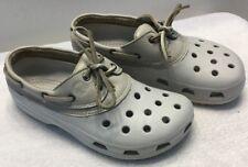 Crocs Unisex Beige Shoes Size Women's 10 / Men's 8