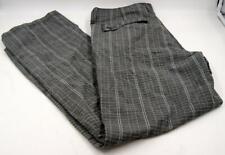 Oakley Golf Swagger Men's Pants Gray/Black Plaid Sz w:33 L:32