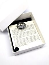 Eucharistic Minister pin badge with butterfly clip  -  Gift Boxed Lapel Badge