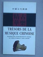Trésors de la musique chinoise - exposition d'instruments rares du néolitique...