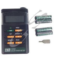 Handheld Solar Power Meter Sun Irradiance Mesurement New TES1333 Digital Display