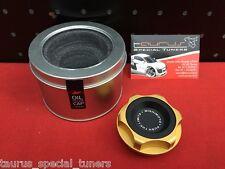 Tappo Olio MISHIMOTO Subaru Impreza WRX GT STI Limited Edition Oro Rabbocco