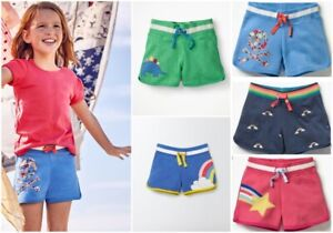 New Ex Mini Boden Applique Shorts, Was £26 Now £8.99